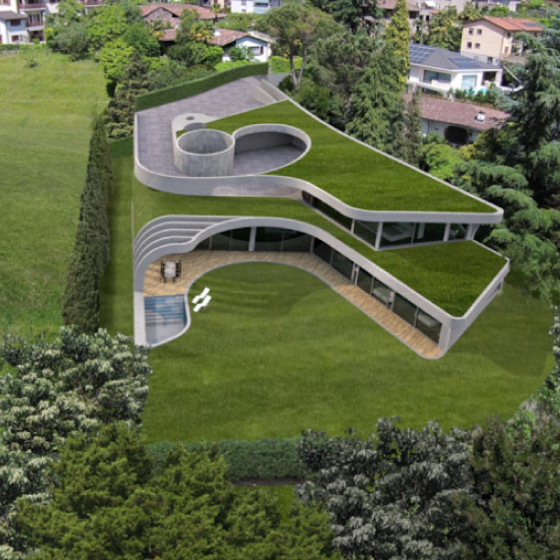 Villa Privata ad Origlio - PIANIFICA